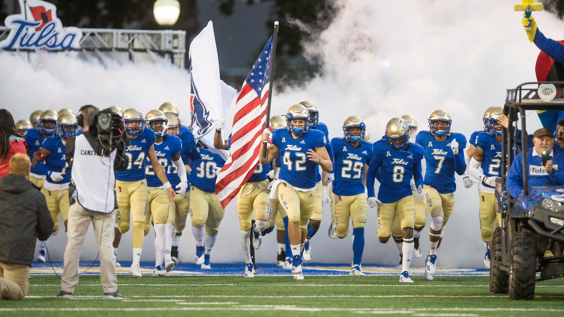 Tulsa S 2019 Season Opener At Michigan State To Be Played On Friday