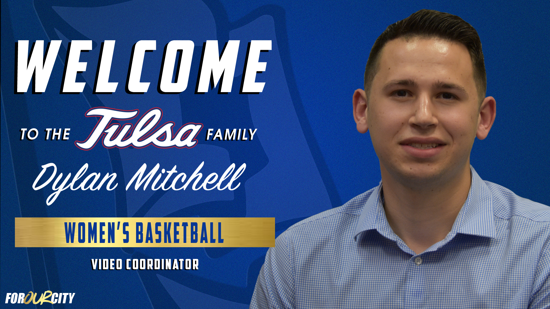 Tulsa Women's Basketball Welcomes Dylan Mitchell as Video
